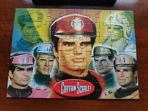 Captain Scarlet 60 Piece Jigsaw Puzzle 2001 ages 4+ complete excellent condition
