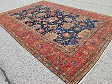 ANTIQUE PERSIAN SULTANABAD ORIENTAL CARPET_10 x 15_CIRCA 1880 FROM MY COLLECTION