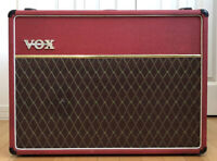1998 VOX AC30/6 TBX RED Marshall Guitar Amplifier/Amp