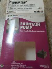 Beckett Fountqin Pump