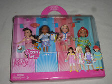 NEW IN BOX KELLY & SHELLY PROFESSIONS BUNCH SET  I CAN BE MATTEL NIB 2007
