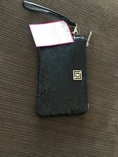 Liz Claiborne Phone Charging Wallet (Android or iPhone) — Black Glitter New