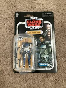 star wars the clone wars action figures 3.75in vintage collection trooper fives