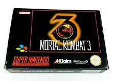 Super Nintendo Mortal Kombat 3 MK 3 Complete [EUR] SNES