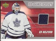 Ed Belfour  06/07 Upper Deck  #J-EB  UD Game Jersey - Toronto