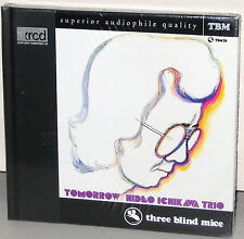 XRCD TBM-XR-0073: Hideo Ichikawa Trio - Tomorrow - 1997 Japan OOP SEALED