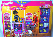 1998 TOY STORE SHOPPING PLAYSET BARBIE DOLL NEW NRFB