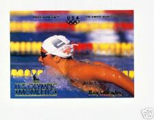 1996 UD OLYMPIC CHAMPIONS MARY T. MEAGHER SWIMMING CARD
