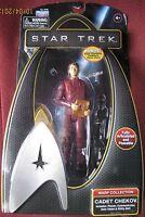 Star Trek Warp Collection Cadet Chekov 6 inch Action Figure Phaser Communicator