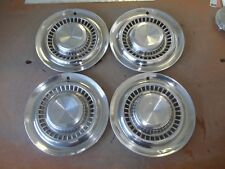"1956 56 Pontiac Hubcap Rim Wheel Cover Hub Cap 15"" OEM USED SET 4"