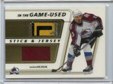 2002-03 ITG BAP In the Game Used Stick & Jersey Gold /10 Milan Hejduk