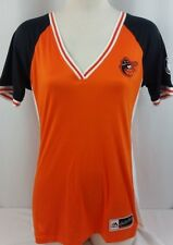 BRAND NEW Majestic Cooperstown Orioles Coolbase jersey Women's Shirt