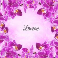 Love  -1, Aerografo Airbrush Nail Stencil Unghie Autoadesivo 30 Pezzi