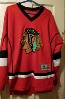 Chicago Blackhawks NHL Team Apparel Jersey Mens Size M Panarin 72