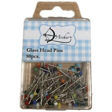Archer Haberdashery Glass Head Pins | Pack of 80