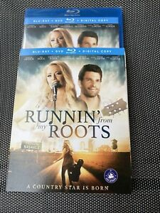 Runnin' From My Roots Blu-ray & DVD 2018 Brand New Sealed Deana Carter