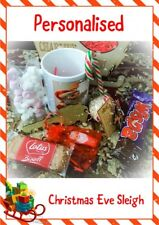 Personalised Christmas Mug Candy Cane Hot Chocolate Marshmallows Santa Choc