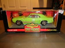 NEW American Muscle Street Machines 1969 Chevy Camaro Die Cast Car 1:18 69 Green