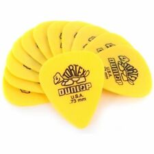 Dunlop Standard Tortex Guitar Picks Yellow .73 mm 12-Pack Acoustic Or Electric