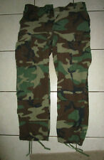"Original Us Army Woodland Camo Trousers 34"" x 30"""
