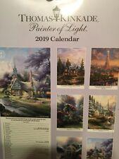 Thomas Kinkade Painter of Light Slim Calendar 2019 New In Package