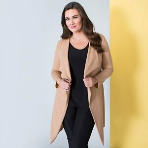 Nicole Crepe Waterfall Jacket various colours & sizes M 12-14, L 16-18, XL 20-22