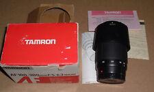 Tamron AF 100-300mm f5-6.3 Macro for Minolta-AF Camera Lens Model 186DM