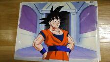 Rare MOVIE DRAGONBALL Z SON GOKU original Production anime cel with background