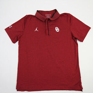 Oklahoma Sooners Nike Jordan Polo Men's Red New with Defect