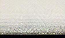09105-10) 12 Rollen edle Vinyltapeten WEISS Tapete in Glasfaser Optik Fischgrät
