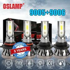 Combo 9006+9005 LED Headlight 3000W 450000LM Hi-Lo Beam Kit HID Lamp Power 6000K