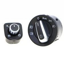 Qty 2 Auto Head Light Switch Button For VW Golf Jetta 5 MK6 Passat B6 5ND959565A