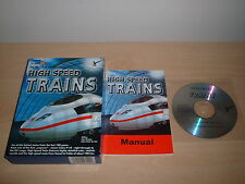 Trains grande vitesse ~ Microsoft Train Simulator add-on coffret complet