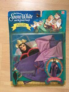 Playset Snow White The Queen Disney Mattel 1992