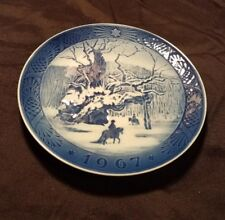 Royal Copenhagen Porcelain Plate Royal Oak 1967
