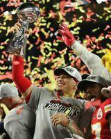 Patrick Mahomes Kansas City Chiefs Super Bowl LIV 54 8X10 Photo (A)