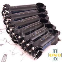 UNO Ultra Light Road bike Stem 7 -17° 31.8 x 80/90/100/110/120/130mm,Black/Blue