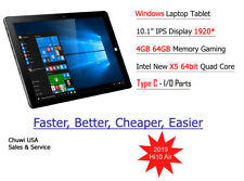 "ChuwiUSA Hi10 AIR 4GB+64GB 10.1"" IPS 2K Windows 10 Intel Z8350 up to 1.8GHz"