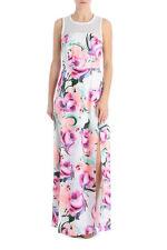 BETTINA LIANO DRESS MULTI FLORAL MAXI DRESS, Sz 8 RRP $129 NWT