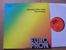 PETER ASAM/DAVE PERKINS lp m(-)/vg+ europhon records ELP 581 Germany 1984