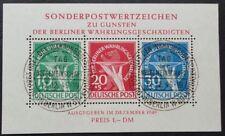 Berlin Block 1 - 8 , o , Auswahl Block 1 - 8 mit ESST Berlin
