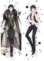 Black Butler Kuroshitsuji Dakimakura Sebastian Anime Male Body Pillow Case Cover