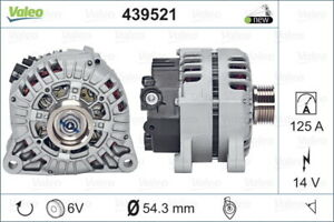 Valeo Alternator 439521 fits Peugeot 307 1.6 16V (80kw), 1.6 HDi (66kw), 2.0 ...