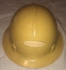 Vintage Yellow Fiberglass Hard Hat Jackson Products