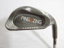 Used RH Ping Zing 2 (Orange Dot) Sand S Wedge TT Lite Steel Stiff Flex S