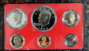 Beautiful Cameo Proof 1973 S with Eisenhower Dollar CONECA Error MDO-001