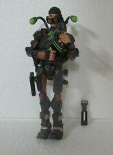 GI Joe Sigma 6 Demolition Expert TUNNEL RAT 8in Figure W/Sheet ~ Hasbro ~ 2005