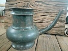 Old antique Solid Fine Bronze Unique Ritual Holy Big Water Pot /Ewer