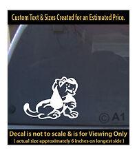 Basset hound dog 6 inch decal pet lover man best friend car laptop more swp1_1