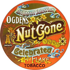 CHAPA/BADGE SMALL FACES Ogdens' Nut Gone Flake . pin button ronnie lane marriott